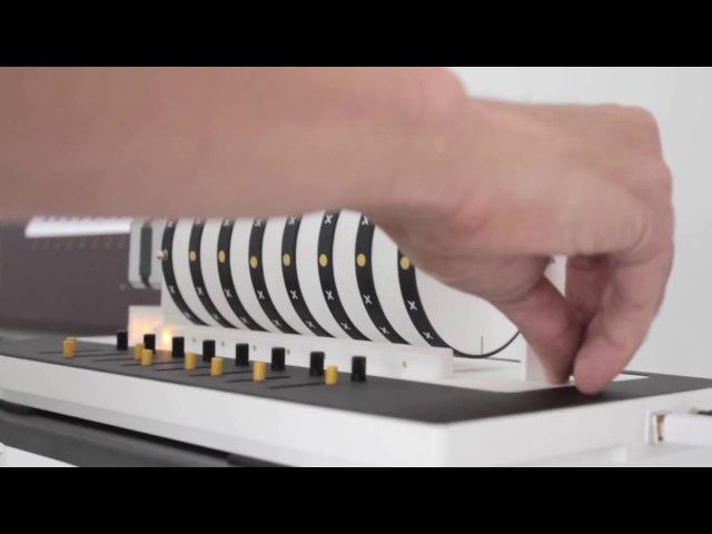 XOXX Composer - Digital Music Box Creates Music Visually and Playfully
