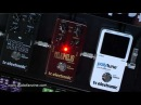 TC ELECTRONIC MOJOMOJO DARK MATTER video demo [Musikmesse 2011]