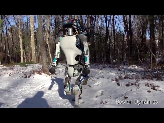 Нелёгкая судьба робота из BostonDynamics! Похитили маму! Озвучено by [FORK]. Ненормативная ...