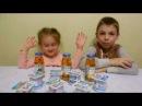 Детское питание челендж.Разные вкусы сырков.Неожиданная отрышка во время прощания.