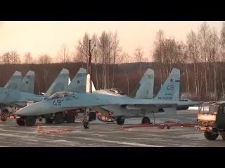 в Карелию прибыли новейшие истребители су 35