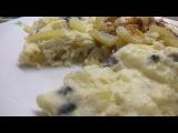 Омлет с картошкой. Необычный омлет. Как приготовить омлет