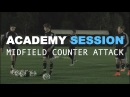 Football Academy Session 6 Counter Attacking from Midfield