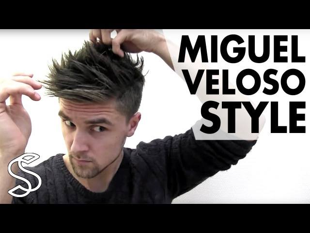 Miguel Veloso Hairstyle ★ Men's Football Player Hair Tutorial ★ Slikhaar TV