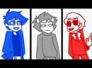 John and Dave Respond to Memo Extended Homestuck Animation