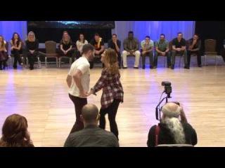 Ben Morris Melissa Rutz - Monterey Swingfest 2017 Champions Jack Jill 1st Place