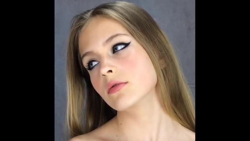 Новая международная модель Podium Studio Наташа для Make up Kalininigrad смотреть онлайн без регистрации