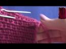 Шапочка с косами с тенью из пряжи Аргентинская шерсть от Камтекс