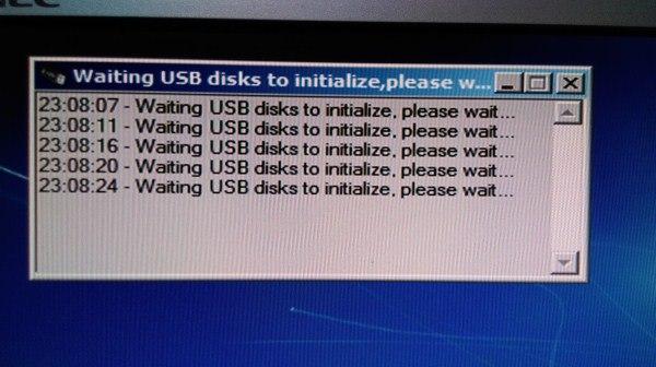 USB driver error