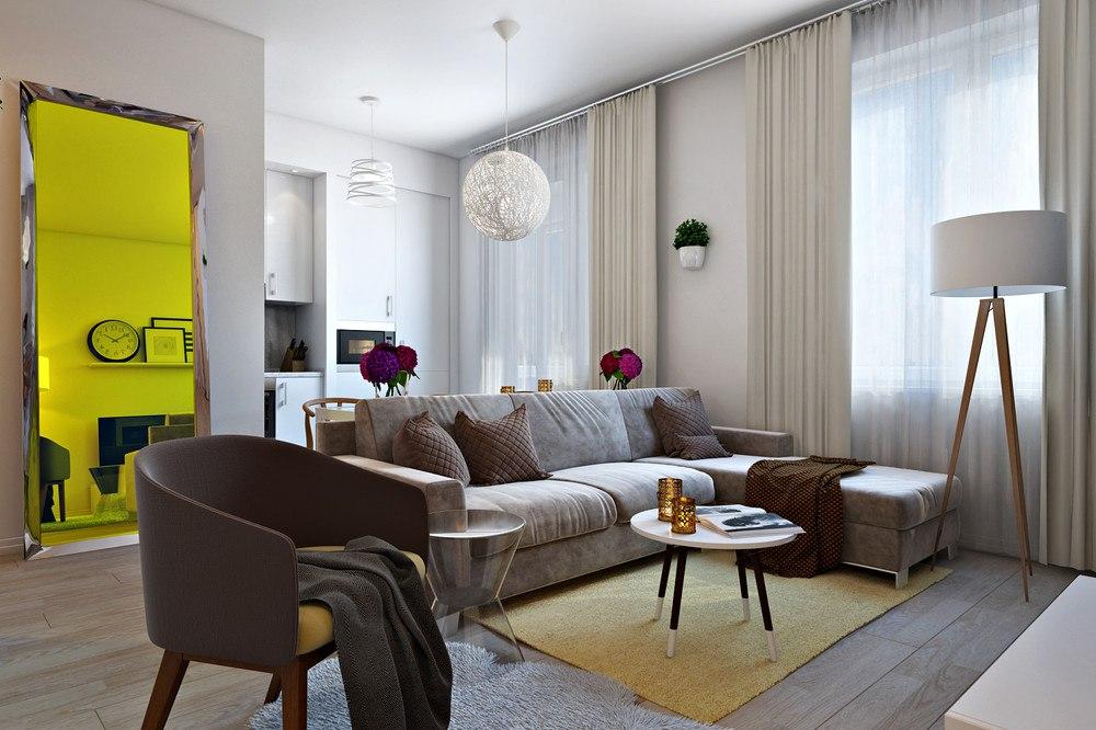 Концепт квартиры 28,5 м.