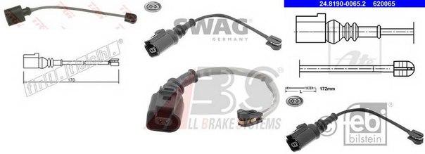 Сигнализатор для AUDI TT купе (FV3)