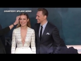Tom Hiddleston caught looking at Brie Larsons cleavage