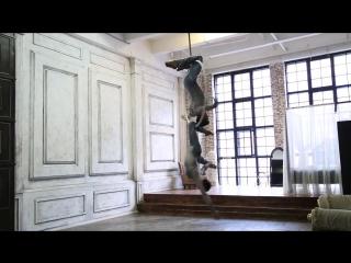 Anzhela Kulagina Maria Baglay Aerial Hoop duo
