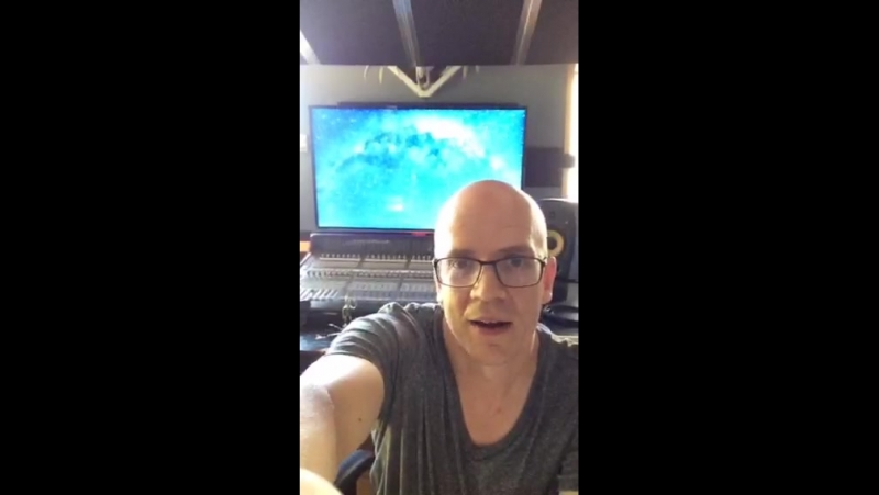 Devin Townsend 'Transcendence' Promotion video (periscope.tv)