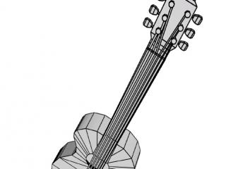 3DsMax Гитара