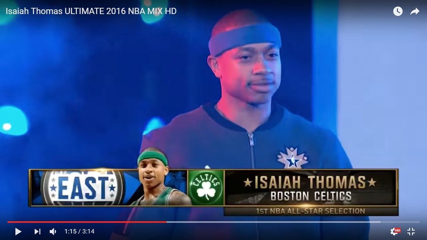 Первый раз на Матче Всех Звезд НБА Айзея Томас