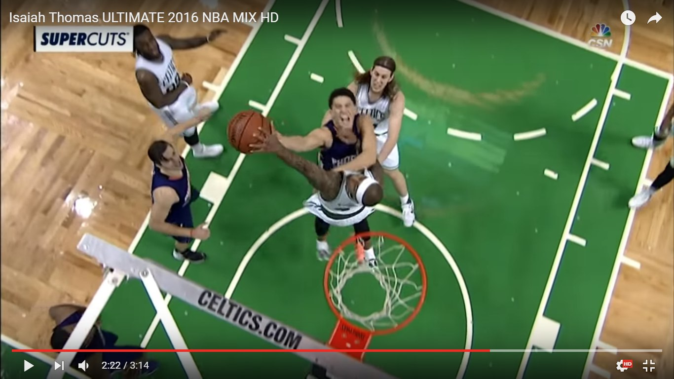 Isaiah Thomas block booker 2016