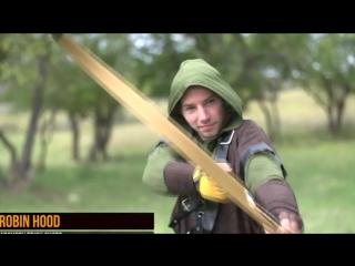 Unreal Archers Tricks - Robin Hood Sucks. Нереальные трюки лучников - Робин Гуд отдыхает