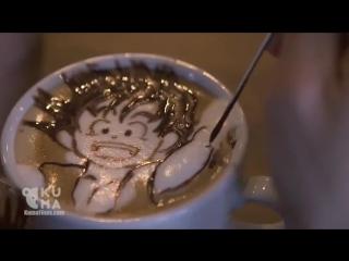 Лайфхакерша. Арт-искусство в чашечке кофе