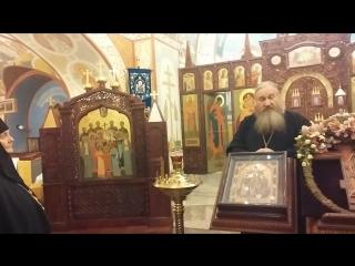 Тярлево - в храме - рассказ о.Александра Покрамовича