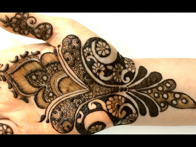 2016 New Pakistani Henna Mehendi Full Hand Step By Step:Creative Intricate Mehndi Designs For Hands