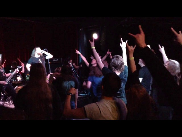 Ulfdallir - Побратим (Bloodbrother) Live in Moscow (2017-02-26)