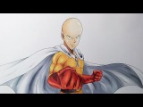 Drawing Saitama from OnePunch-Man