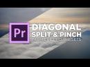 Diagonal Split Pinch Transition Preset Tutorial Adobe Premiere Pro Chung Dha