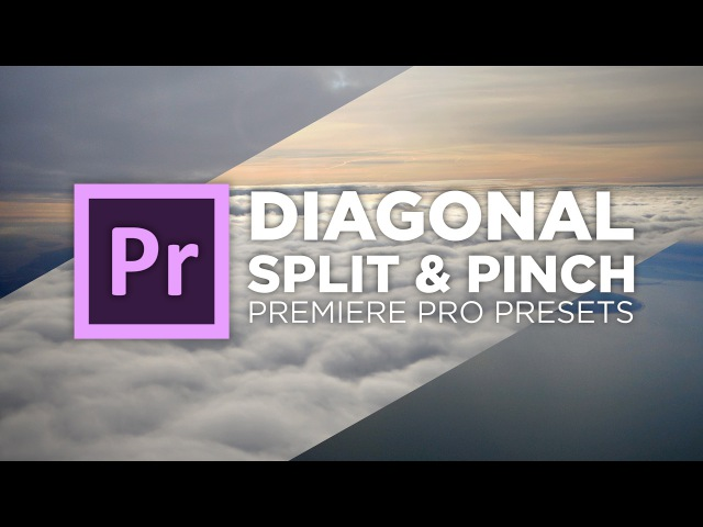 Diagonal Split Pinch Transition Preset Tutorial Adobe Premiere Pro Chung Dha