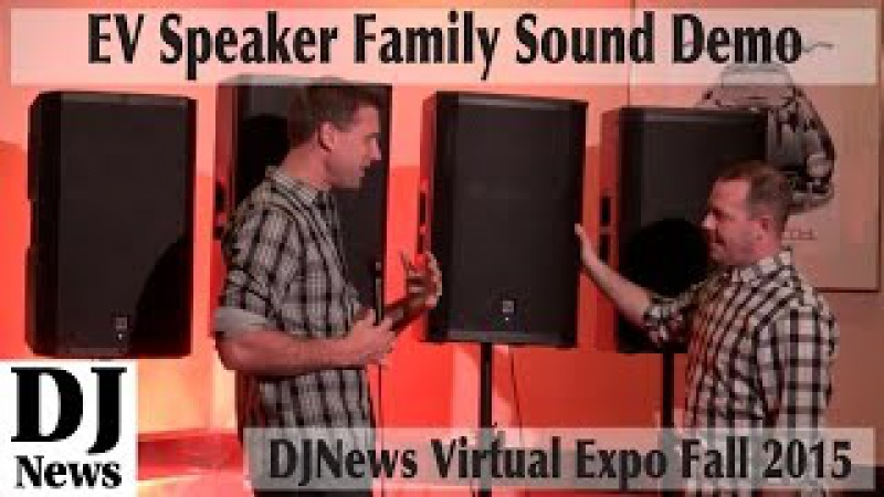 The Speaker Test You Wanted Demo of all four ElectroVoice Speaker Families Virtual Expo