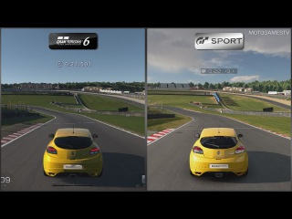 Gran Turismo 6 vs Gran Turismo Sport Beta - Renault Mégane R.S. Trophy '11 at Brands Hatch Indy