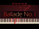 Ballade No 1 in G minor Op 23 CHOPIN