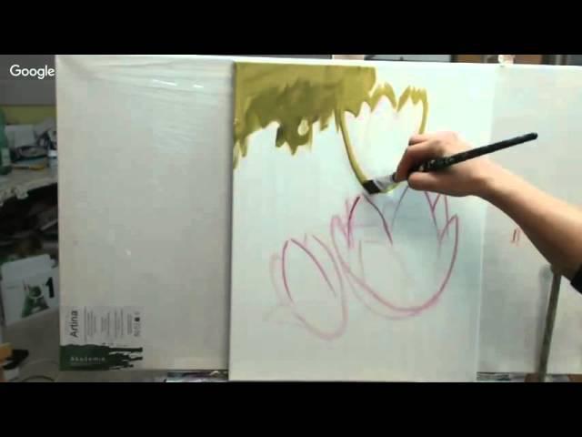 Магнолии - рисуем картины со Светланой Шенк