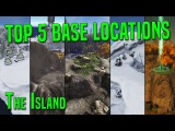 ARK TOP 5 PvP BASE LOCATIONS on The Island PvP Tips &amp Tricks - ARK Survival Evolved