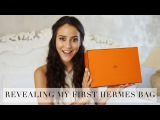 My First Ever Hermes Bag Reveal | Try On and Unboxing | Tamara Kalinic