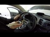 Kia Sportage установка кнопок на руль (Круиз контроль- управление магнитолой )