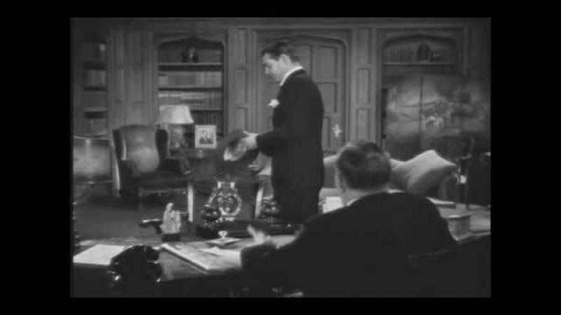 It Happened One Night (1934) - Clark Gable Do you love my daughter? scene