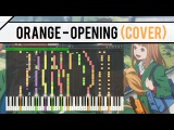 Orange OP - Hikari no Hahen Synthesia Instumental