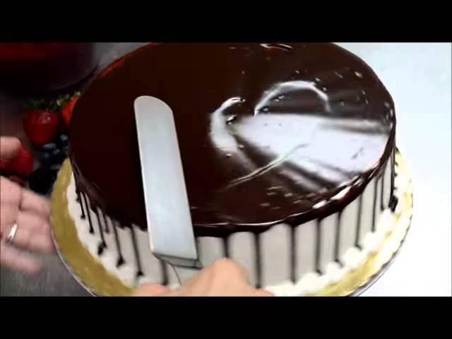 Украшение торта. Как быстро украсить торт для именинника