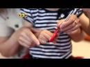 Как научить малыша пользоваться ножницами. Мамина школа. ТСВ