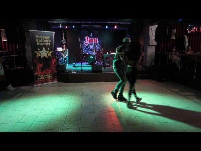 2017 02 19 sambafanaticos 5 shows 2 David Cleo improvisation