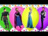 Learn Colours Balloons   Frozen Elsa & Anna   Fun and Creative for Kids #фрозен #холодноесердце #принцессыдиснея