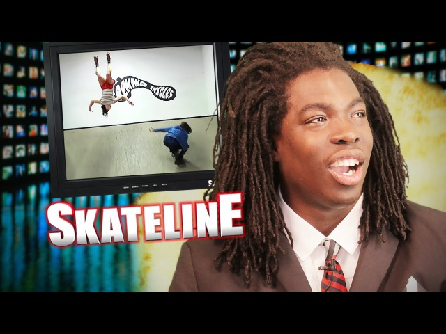 SKATELINE - Austyn Gillette, William Spencer, Kelly Hart, Triple Set Lazer Flip more