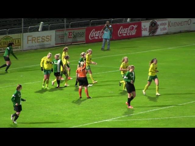 Ilves Naiset - TiPS 1-0 (0-0) 22.9.2016 Naistenliiga kooste