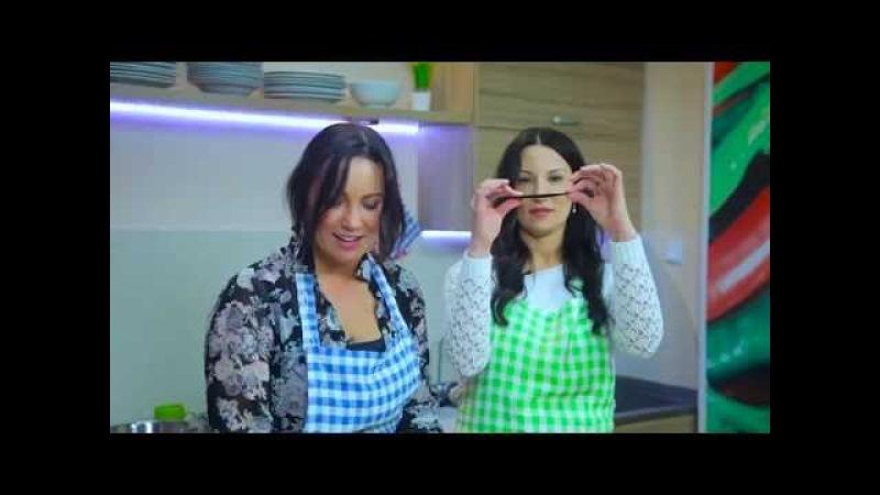 Семья на кухне №9. Гости - Мария и Татьяна Ледяевы