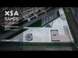 XSA Ramps скейт плаза в ЖК Спортивная деревня