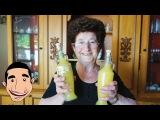 LIMONCELLO RECIPE  Nonna making the best limoncello in the world  Italian Homemade Recipe