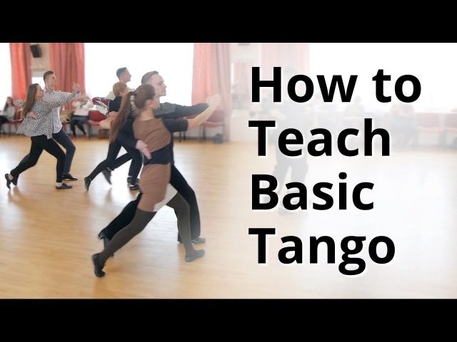 Workshop - How to do Basic Tango for Beginners | Ballroom Dance