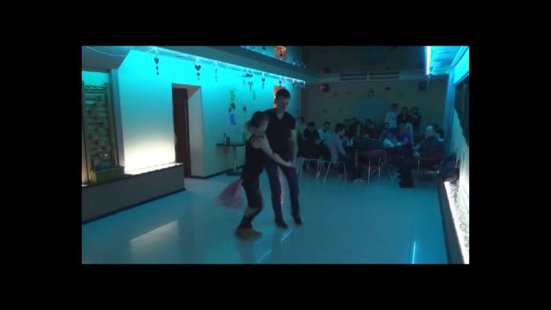 ★OLGA BIRTHDAY★ SALSA PARTY - Людмила и Андрей (Timba)