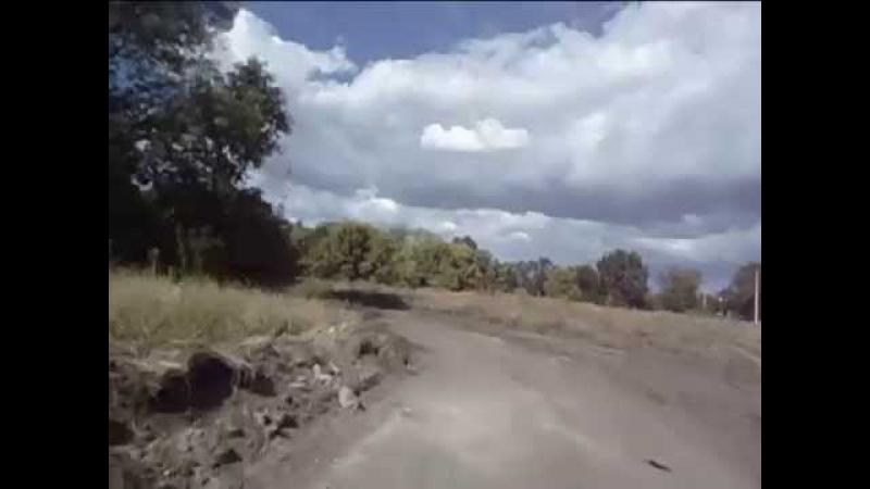 8 Едим на пруд По полям и лесам на мопеде альфа
